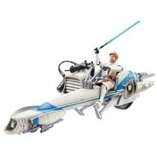 Obi-Wan Kenobi with Barc Speeder Bike