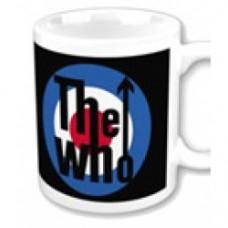 The who Mug target logo