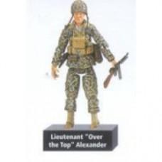 "Scale Ultimate Soldier World War II U.S. Marine Corps liuternant ""over the top"" Alexander"
