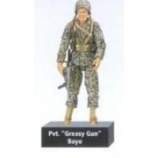 "Scale Ultimate Soldier World War II U.S. Marine Corps pvt. ""greasy gun"" Bayo"