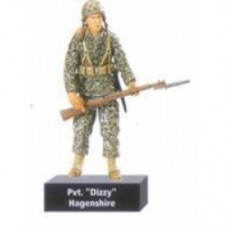 "Scale Ultimate Soldier World War II U.S. Marine Corps pvt. ""dizzy"" hangenshire"