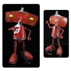 Bad Robot with Slusho! Statue