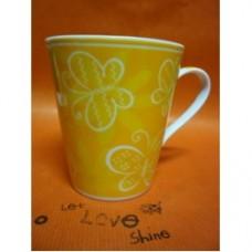 mug fiore giallo
