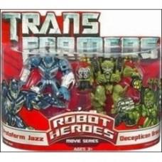 Transformers: Robot Heroes Protoform Jazz & Decepticon Brawl