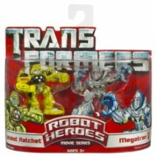 Transformers Robot Heroes Autobot Ratchet Megatron New