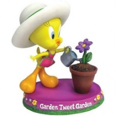 looney tunes tweety garden tweet garden statue