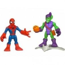 Super Hero Adventures Figure Two-Pack - Spider-Man & Green Goblin