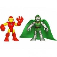 Super Hero Adventures Figure Two-Pack- Iron Man & Dr. Doom