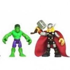Super Hero Adventures Figure Two-Pack Series 01 - hulk & thor