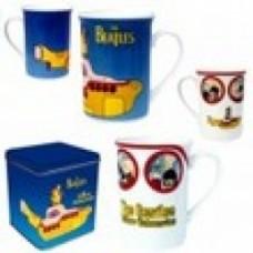 set 2 mug beatles yellow submarine