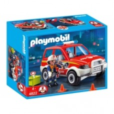 Playmobil Fire Chiefs Car