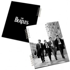 beatles lenticular notebook