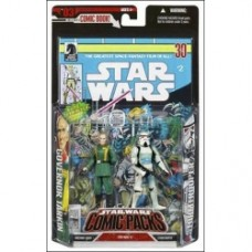 Governor Tarkin & Stormtrooper comic pack