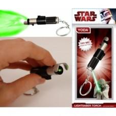 Star Wars Lightsaber Keyring Darth yoda