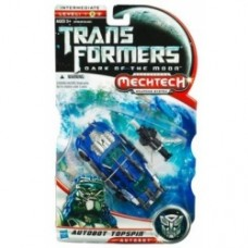 TRANSFORMERS 3 DOTM Movie Deluxe Topspin