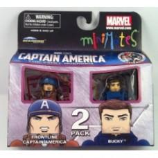 CAPTAIN AMERICA BUCKY Minimates First Avenger