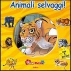 Animali selvaggi! Libro puzzle
