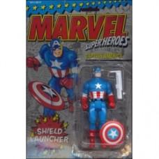 Marvel Super Heroes (Series 1) Captain America (Shield Launcher)