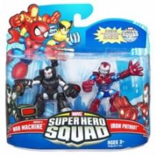 Super Hero Squad - War Machine and Iron Patriot