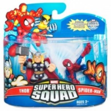Super Hero Squad - Spider-Man & Thor