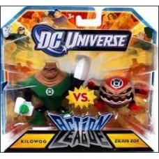 DC Universe: Action League Kilowog vs. Zilius Zox