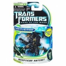 TRANSFORMERS DARK OF THE MOON CYBERVERSE Commander Class DECEPTICON HATCHET