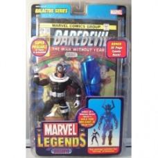 Bullseye Marvel Legends aperto