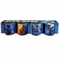 mini mug stra wars set of 4