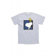 t-shirt snoopy e woodstock
