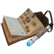 Doctor who the journal of impossible things and sonic screwdriver