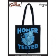 SIMPSONS - Tissu Bag  Homer Tested