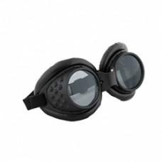 Steampunk Radioactive Black Aviator Goggles