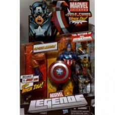 marvel legends armin zola Bucky Captain America