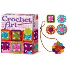 4M Crochet Art - crea con la lana