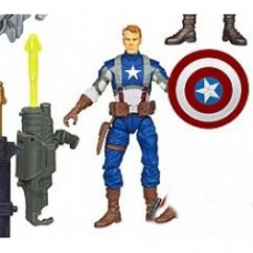 Avengers Movie Action Figures captain america rocket grenate