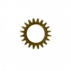 16 mm Steampunk Watch Cog GOLD