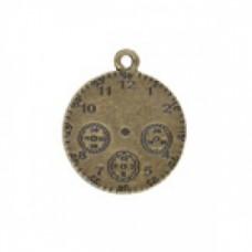 25mm Watchface Pendant gold