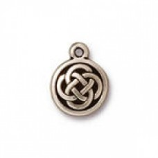 12mm Celtic Round Charm AS