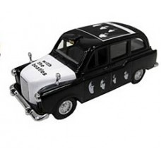 Beatles Die-Cast Taxi Famous Covers with the beatles