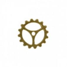 20mm Steampunk Watch Cog Ant.GOLD