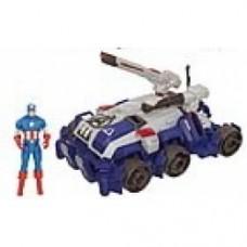 Avengers Movie Stark Tek Battle Vehicles captain america