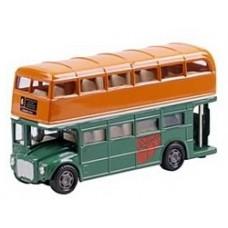 Beatles Die-Cast bus Famous Covers rubber soul