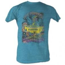 Beatles Yellow Submarine Turquoise T-Shirt taglia L