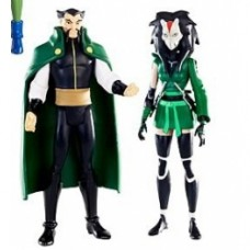 DC Universe Young Justice 2-Pack ra's al ghul cheshire
