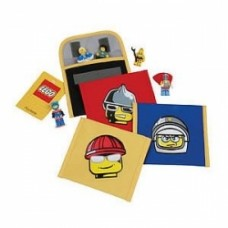 LEGO Mini Accessory Pouch Bag Case rosso