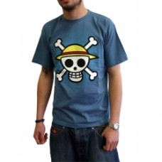 """ONE PIECE - Tshirt """"Skull with map"""""""
