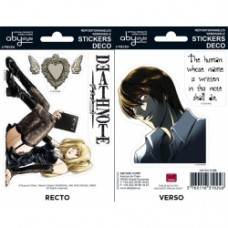 DEATH NOTE - Stickers - 16x11cm/ 2 leeves