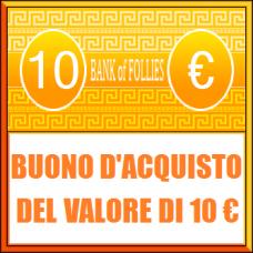 Buono Acquisto del Valore di 10 euro