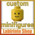 Minifigure personalizzate e sets