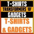 Transformers T-shirt e Gadgets